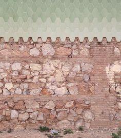 García Clariana . Intervención en el muro del cementerio . El Grao (1)