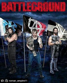 Dean Ambrose, Roman Reigns, Seth Rollins