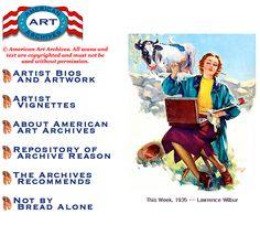 http://www.americanartarchives.com/ 미국의 아티스트들에대한 설명페이지입니다