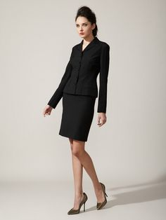 Wool Skirt Suit by Dolce & Gabbana on Gilt