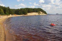 Hiukka - Sotkamon Uimaranta/ #Sotkamo Beach, #Kainuu. (c) Kirsi Haapea 2014