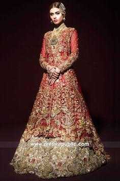 Wedding Lehnga Latest Bridal Lehenga Designs 2019 In Pakistan – Wedding Idea's Bridal Lehenga 2017, Anarkali Bridal, Anarkali Lehenga, Pakistani Wedding Dresses, Indian Dresses, Lehenga Skirt, Wedding Gowns, Wedding Lehnga, Wedding Suits