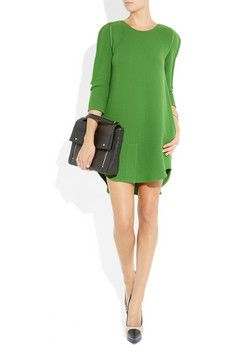 3.1 Phillip Lim  Wool-crepe shift dress