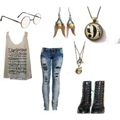 """Harry Potter Outfits Polyvore 