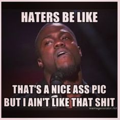 No one likes a hater
