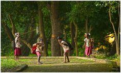 Karakilli children going to school.