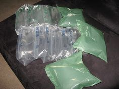 Make your own airpouch's or airpillow's for shipping and packing fragile items