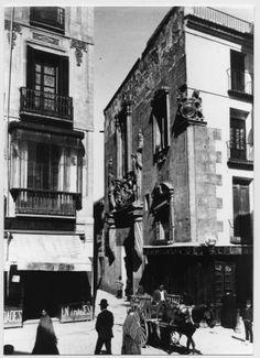 Murcia, Spain, Antigua, 19th Century, Palaces, Cities, Fotografia, Computer File, Street
