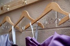 DIY Name Hangers, cheaper than Etsy