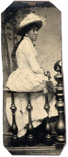 LADY | BLACK VICTORIANS | 1880s via Vintage Black Folk vintageblackfolk.wordpress.com  Black History Album, The Way We Were
