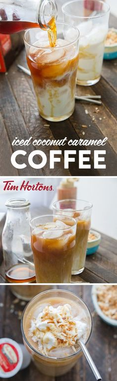Need a coffee pick me up? Enjoy an Iced Macchiato right at home thanks to this easy and refreshing recipe! When it comes to morning kickstarts or mid-day treats that help you cool down during the summer, nothing can beat this delicious combination of coconut almond milk, Tim Hortons Original Blend Coffee, caramel sauce, and a topping of whipped cream and toasted coconut! Grab all the ingredients you need to make this sweet and energizing drink with $1.50 off all Tim Horton's products at…