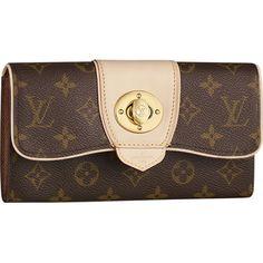 Louis Vuitton M63220 Monogram Canvas Boetie Wallet Khaki