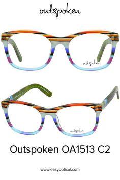 OUTSPOKEN OA1513 C2 Eyewear, Glasses, Easy, Men, Style, Swag, Eyeglasses, Eyeglasses, Guys