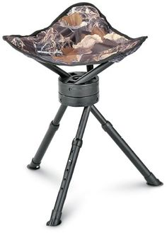 Pin It :-) Follow US :-))  zCamping.com is your Camping Product Gallery ;) CLICK IMAGE TWICE for Pricing and Info :) SEE A LARGER SELECTION of camping stools at http://zcamping.com/category/camping-categories/camping-furniture/camping-stools/ -  hunting, camping, portable chair, camping stools, camping gear, folding chair, camping chair, chair, camping accessories - Ameristep Tripod Swivel Stool « zCamping.com