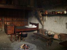Poor Medieval House Interior
