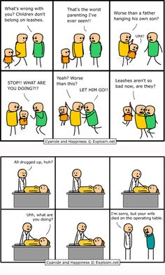 2 of the best cyanide and happiness!