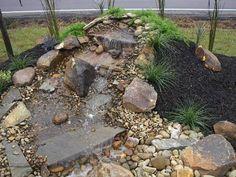The Best Stone Waterfalls Backyard Ideas – Pool Landscape Ideas Fish Ponds, Pond Ideas, Backyard Ideas, Pool Landscaping, Water Features, Backyard Waterfalls, Water Fountains, Fire, Landscape