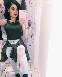 Find images and videos about fashion, style and outfit on We Heart It - the app to get lost in what you love. Dope Outfits, Fall Outfits, Summer Outfits, Casual Outfits, Fashion Outfits, Womens Fashion, Fashion Killa, Look Fashion, Autumn Fashion