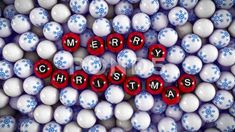 Lottery ball letters forming word Merry Christmas Stock Footage #AD ,#letters#forming#Lottery#ball