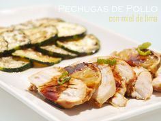 Pechugas de Pollo con Miel de Lima / Chicken Breast with Honey Lime