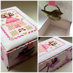 A princess and some lovely fairies for a box!