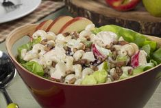 Pasta salad isn't just for summer -- it's perfect for fall, too! Tonight, for a novel autumn meal, why not try this hearty Autumn Pasta Salad filled with rotisserie chicken, apples, and pears?