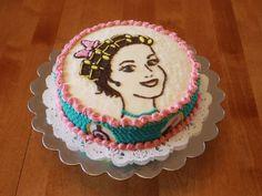 beauty parlor cake love it!