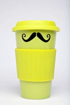 Mustache Coffee Mug http://www.teen.com/2012/04/03/random-stuff/diy-mustache-items-on-etsy/#