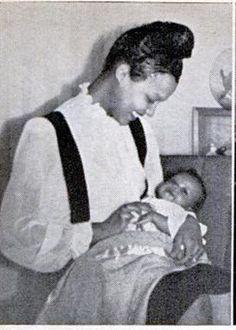 Dorothy Dandridge and her daughter Harolyn Suzanne Nicholas
