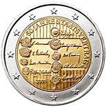 2 euro 50th Anniversary of the Austrian State Treaty - 2005 - Series: Commemorative 2 euro coins - Austria