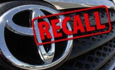 Toyota RAV4 and Lexus Recall