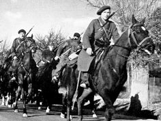 Hungarian Cavalry of the International Brigade; Spanish Civil War