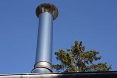 How to Install a Chimney For a Wood Stove on A Metal Roof