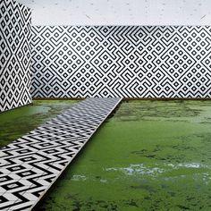 landscapesinrooms Pascaline De Glo De Besses : Zebra - ArchiDesignClub by MUUUZ - Architecture & Design Architecture Design, Landscape Architecture, Landscape Design, Garden Design, Environmental Graphics, Environmental Design, Modern Landscaping, Landscaping Ideas, Exterior