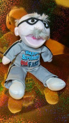 PBC animated Grandpa Old Fart Tee shirt singing Happy Birthday Gag Gift Birthday Gag Gifts, Misfit Toys, Singing Happy Birthday, Animals For Kids, Tee Shirts, Teddy Bear, Animation, T Shirts, Tees