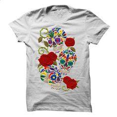 Lovely Sugar Skull Tee - #hoodie casual #cool sweatshirt. CHECK PRICE => https://www.sunfrog.com/Holidays/Lovely-Sugar-Skull-Tee.html?68278