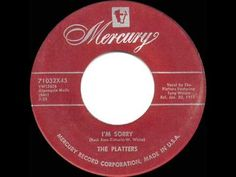 1957 HITS ARCHIVE: *I'm Sorry* - Platters - YouTube