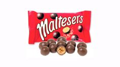 Let's take on sweet spread that gives Nutella a race for the money. It's the Maltesers Teasers Taste Test, let's see how good it is. Chocolate Malteser, Chocolate Sweets, British Candy, M&s Chocolates, Packaging World, Custard Filling, Cupons, Free Candy, Moon Cake