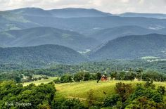 Pendleton County Highlands ~ German Valley in West Virginia by Rick Burgess