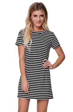 tee shirt dress. Just got one like this today for $6 from target! Just different colors!