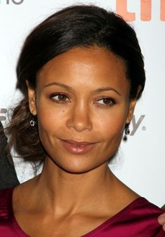 Thandie Newtons sweet, sexy updo