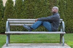 Reflecting on a bench by tyfn, via Flickr | Canon XSi 50mm f/1.4, ISO 100, f/6.3, 1/6