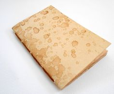 Coffee colored travel notebook journal-Rustic by ExiArtsEcoCrafts