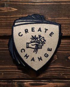 Create Change Patch - Take Heart Apparel Co.