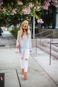 Bows + booties for fall