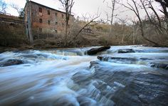 Fulton County's hidden gems: The 1853 Machine Shop overlooks Vickery Creek at Roswell's Old Mill Park
