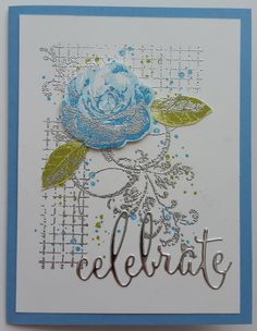 "Uses Stampin' Up!'s ""Picture Perfect"" and ""Timeless Textures"" stamp sets, and Poppystamps ""Celebrate"" word die"