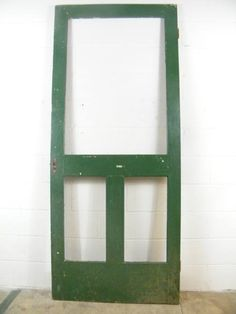Screen doors on pinterest wood screen door old screen for Old wood doors salvaged