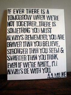 Want to hang this in our place...debating on trying to make myself...even if we are only apart for a short amount of time always remember...