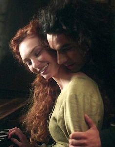 Demelza and Ross Poldark